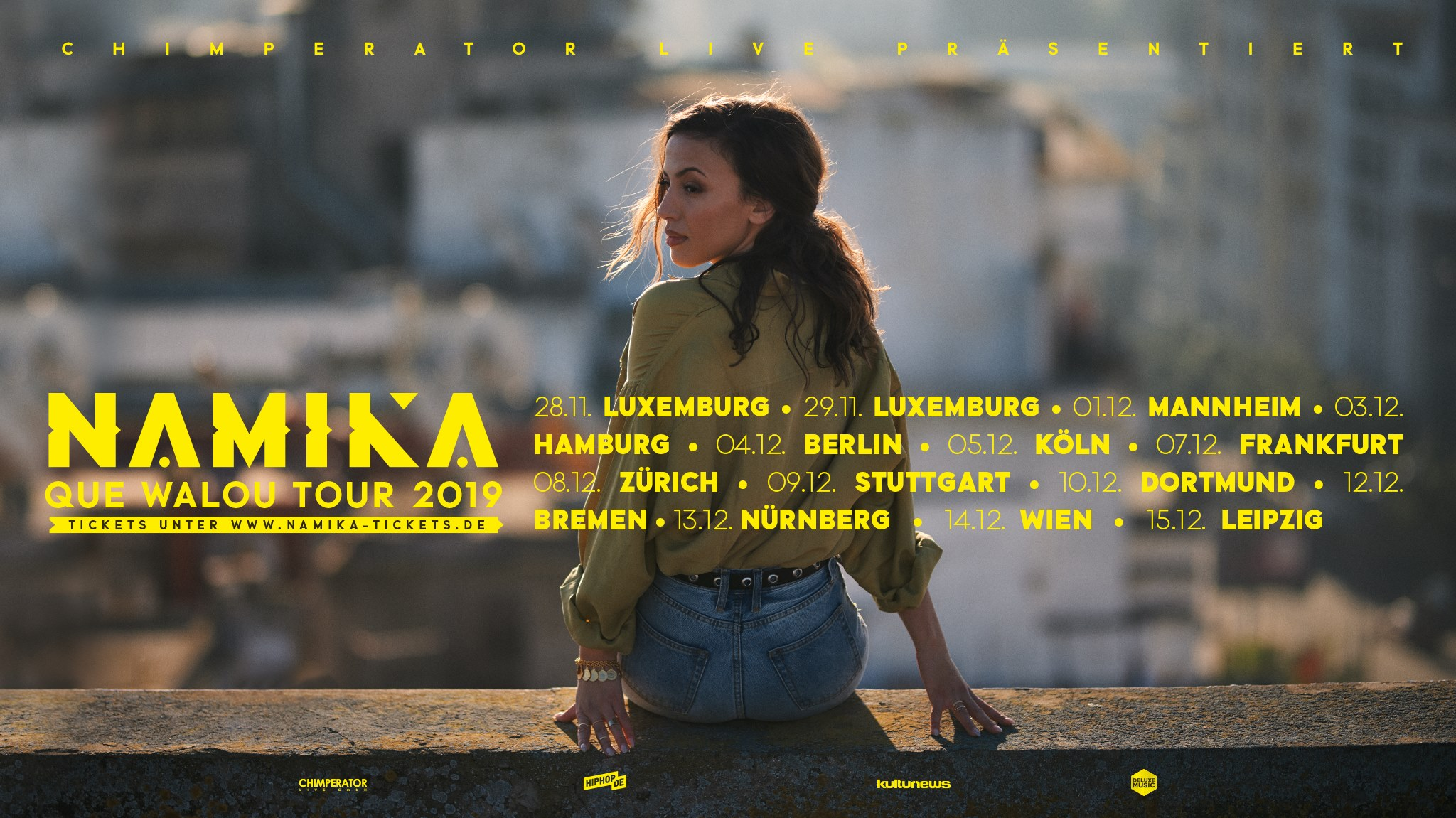 Namika • Que Walou Tour