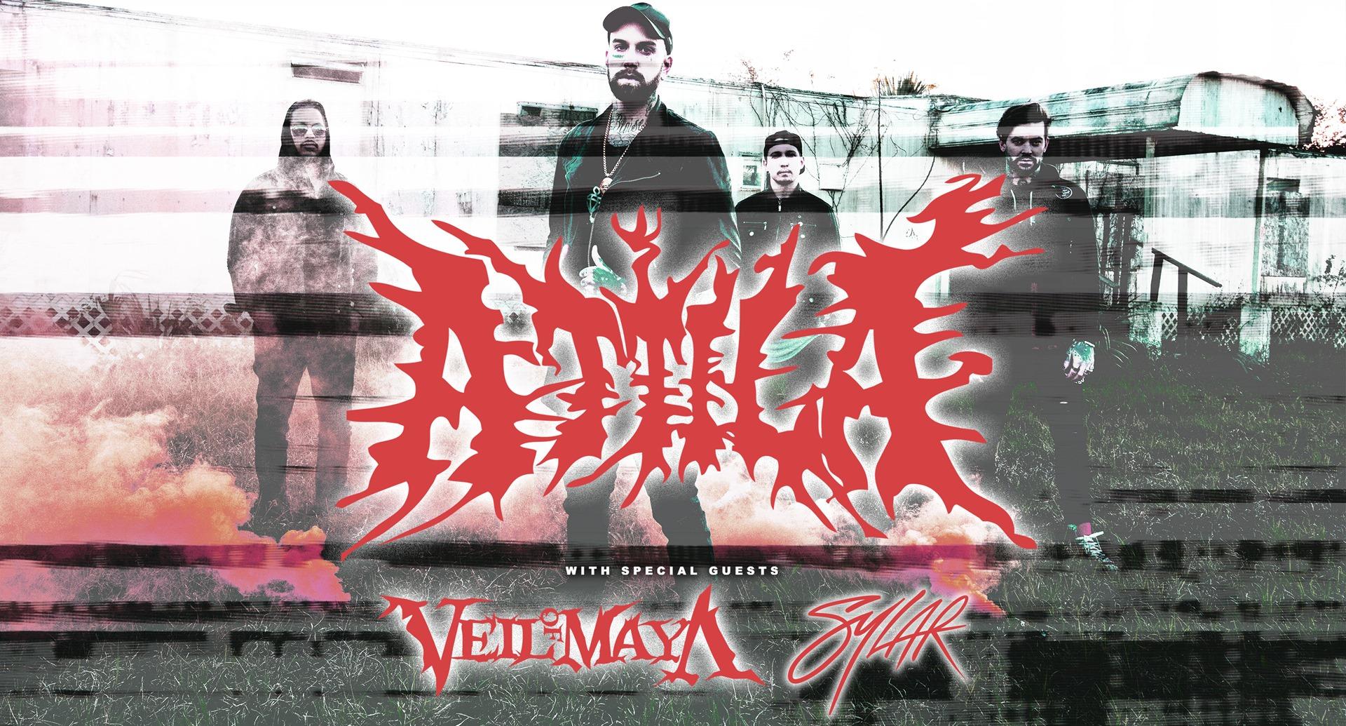 Attila + Veil of Maya: Villain EU Tour