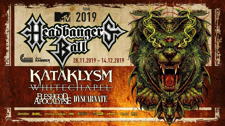 MTV Headbanger's Ball Tour