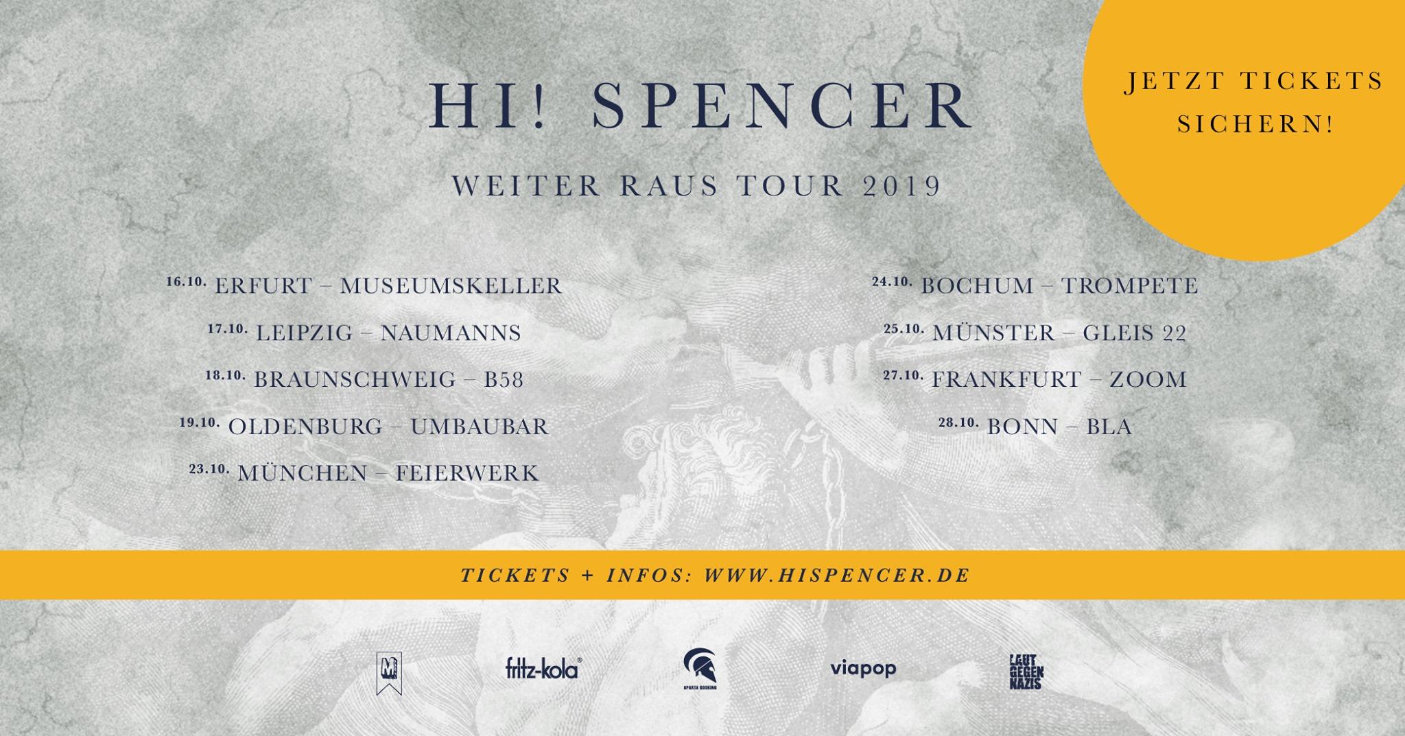 Hi! Spencer