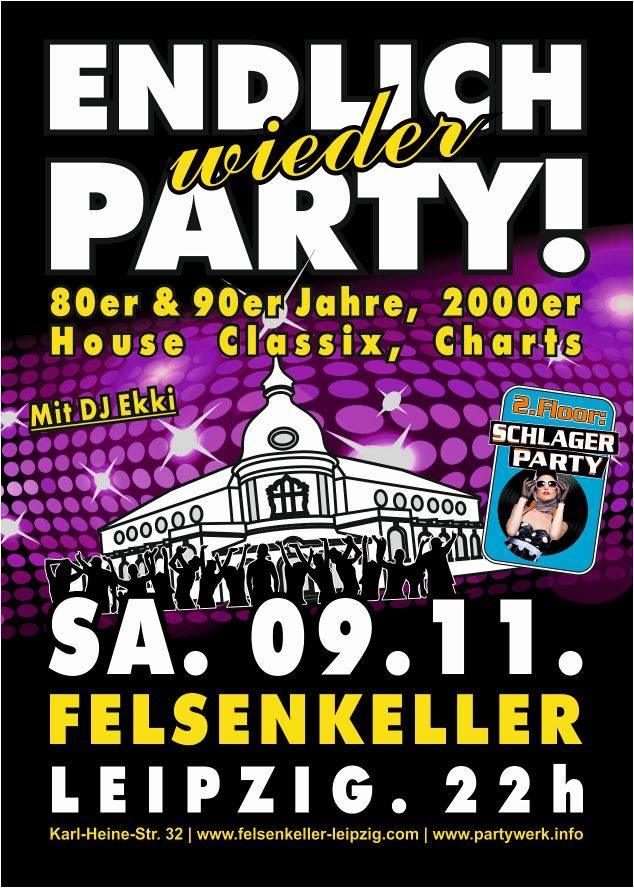 -Party werk - Endlich Wieder Party