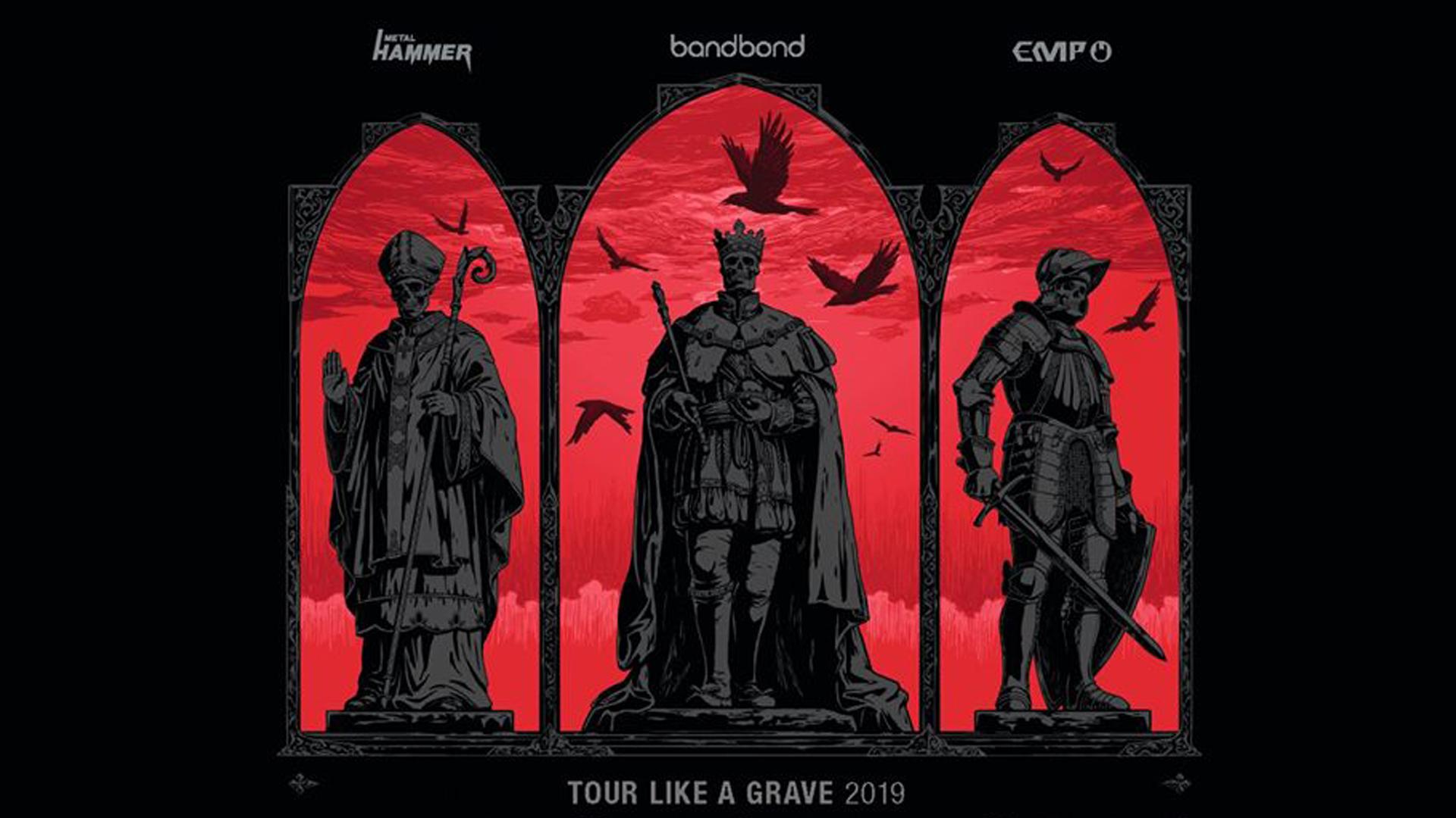 TOUR Like A GRAVE : Insomnium, the Black Dahlia Murder, Stam1na