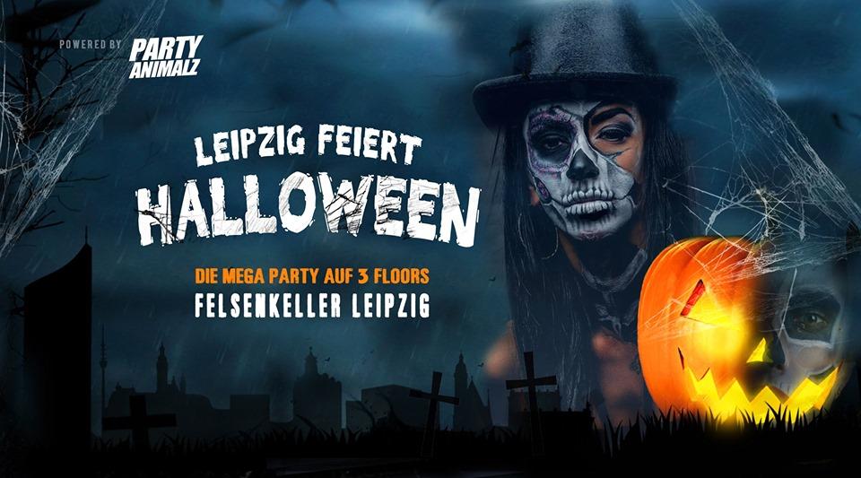 Leipzig feiert Halloween