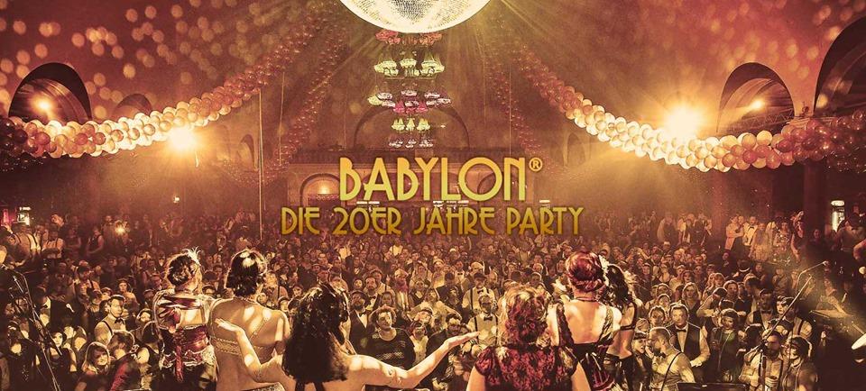Babylon • Die 20er Jahre Party