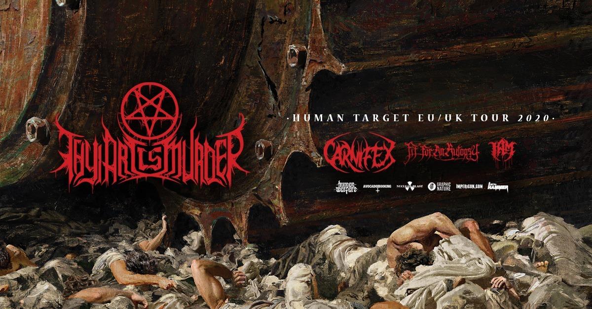 Thy Art Is Murder // Human Target Tour