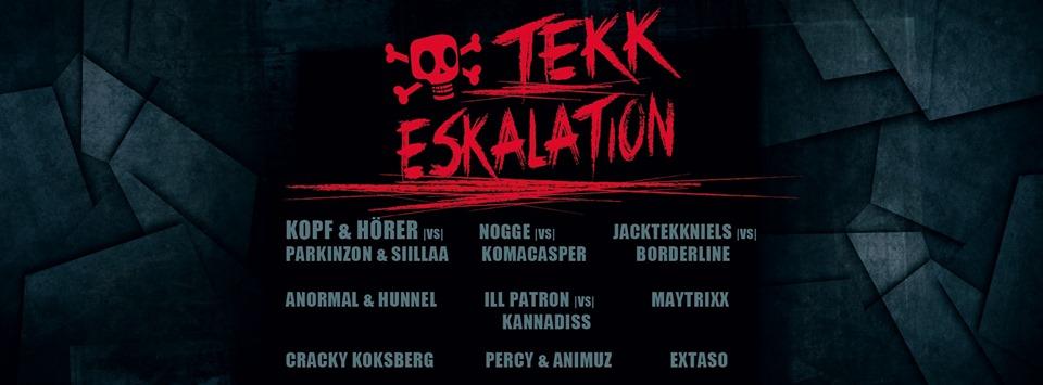 TEKK Eskalation - Techno im Felsenkeller Leipzig