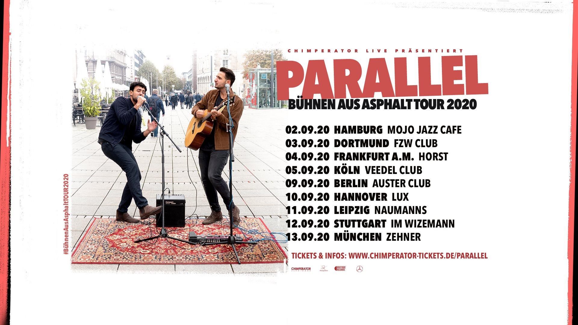 Parallel • Bühnen aus Asphalt Tour 2020