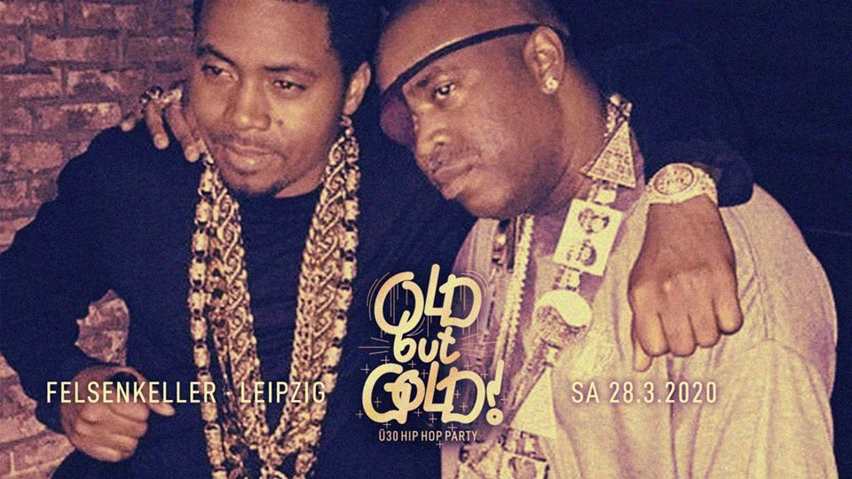 [LIVESTREAM] Old but Gold - Ü30 Hip Hop Party w/ 5 Sterne Soundsystem