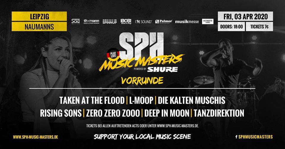 [VERSCHOBEN] SPH Music Masters Vorrunde // Leipzig