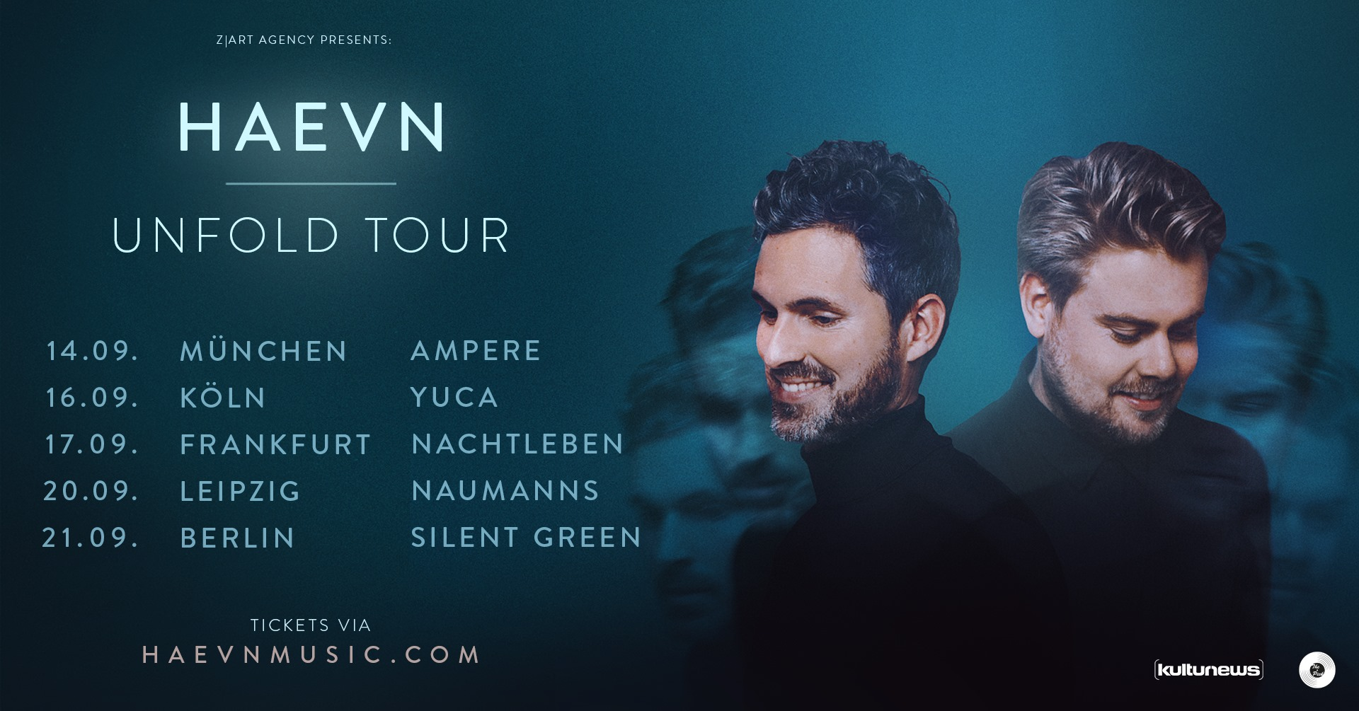 HAEVN Unfold Tour