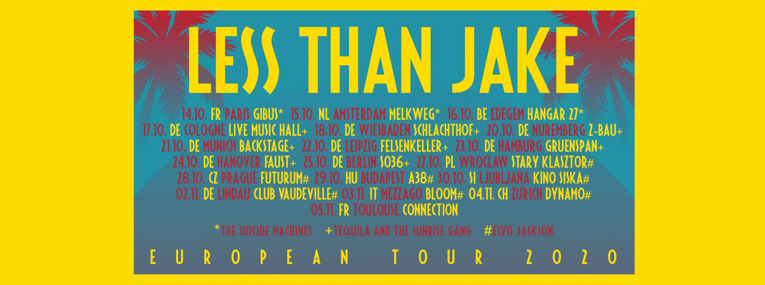 Less Than Jake - European Tour