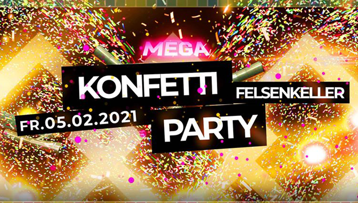 Mega Konfetti Party 2021
