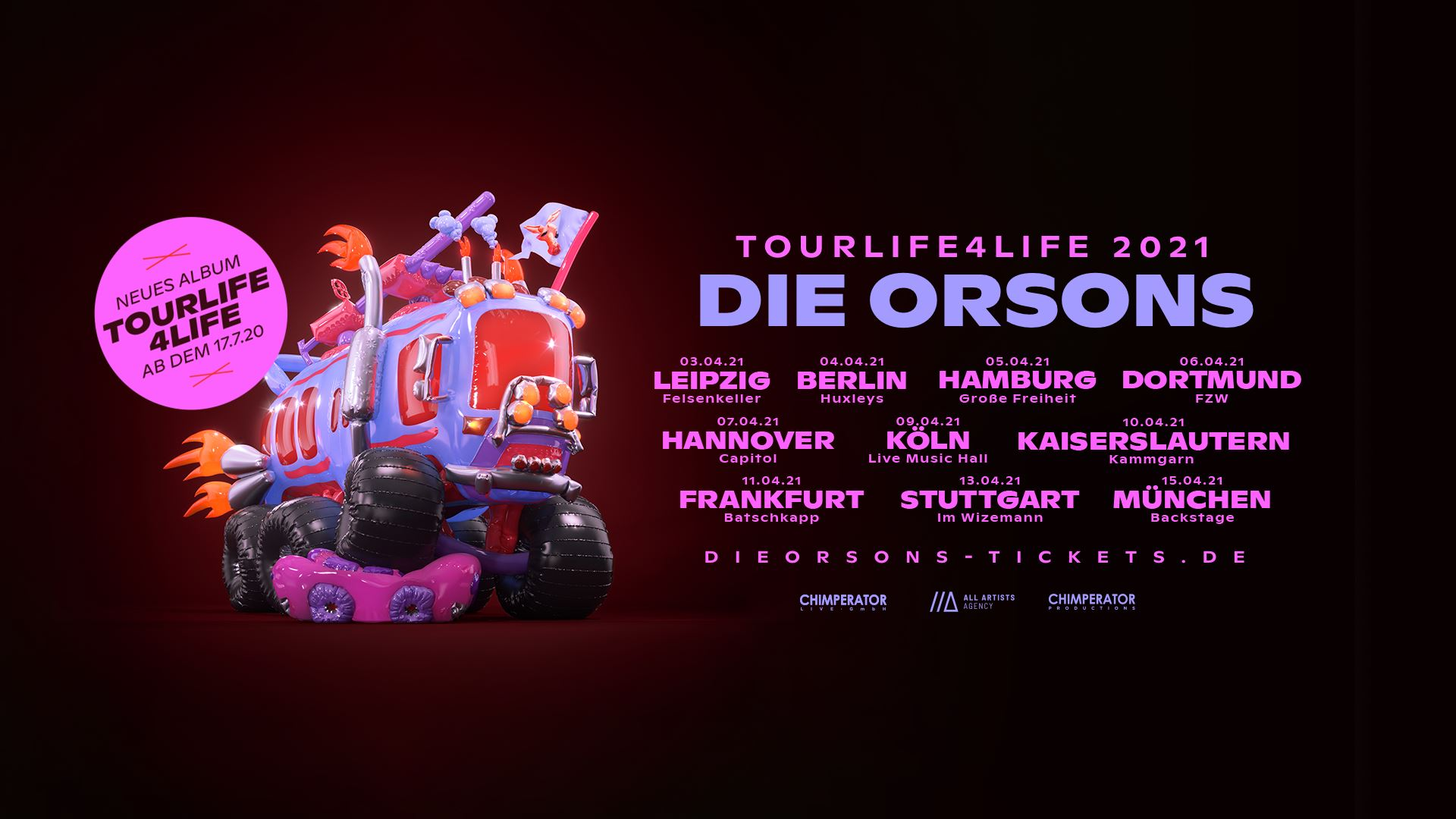 Die Orsons - Tourlife4Life