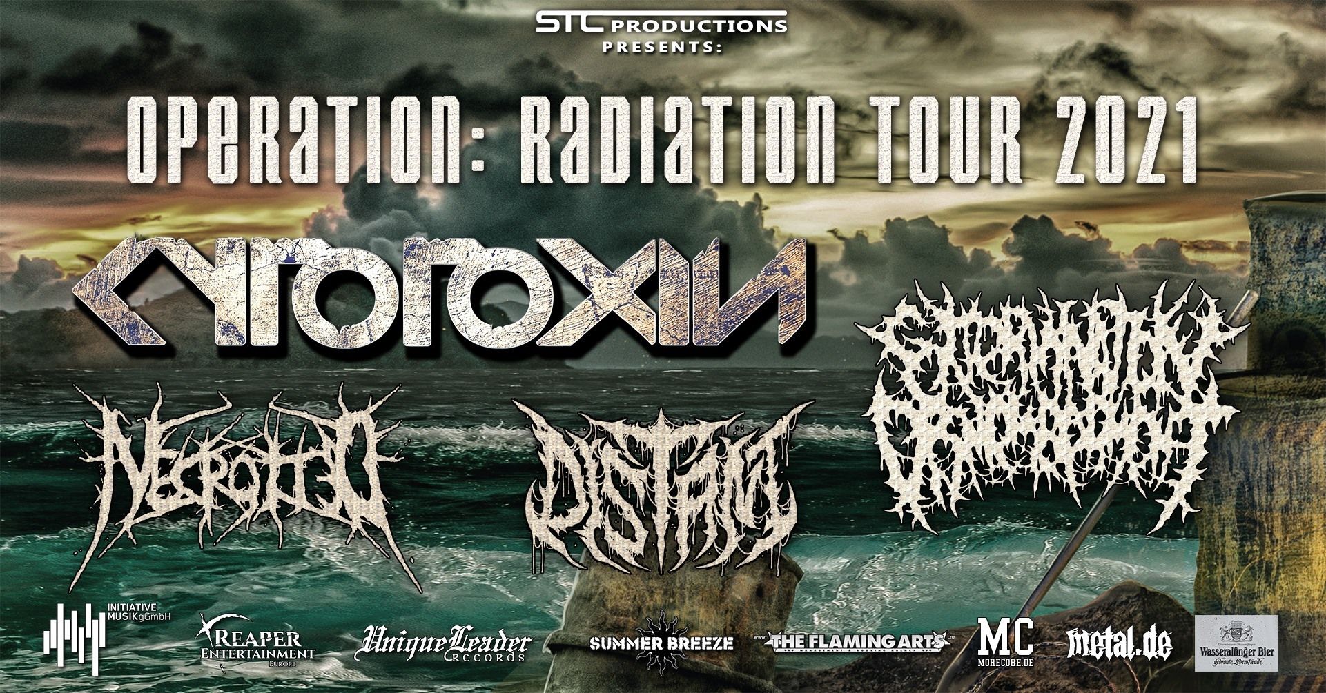 """Cytotoxin + Special Guests """"Operation: Radiation Tour 2021"""""""