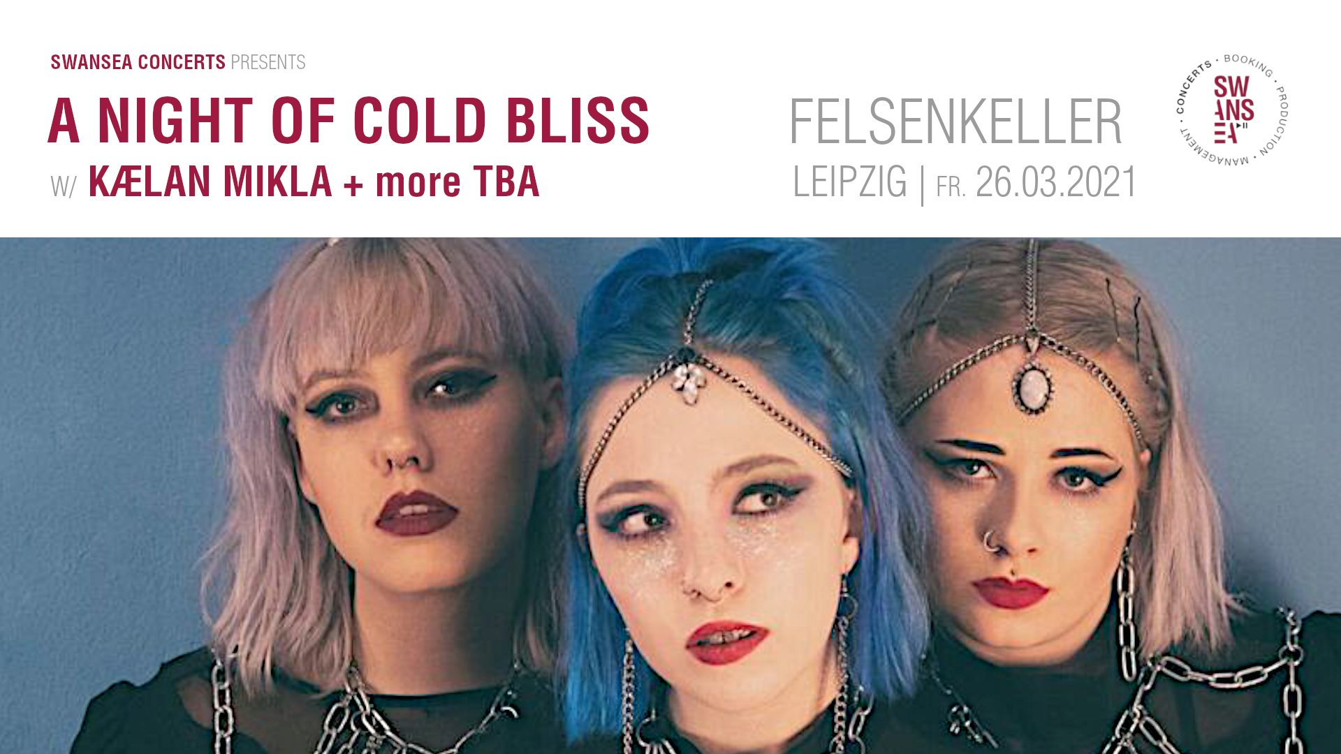 A Night Of Cold Bliss w/ Kælan Mikla