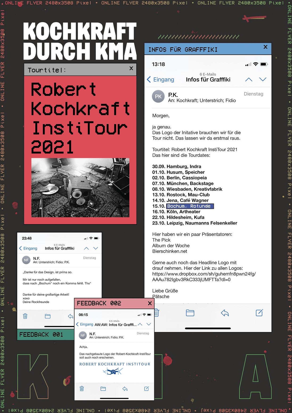 Kochkraft durch KMA - Robert Kochkraft InstiTour 2021