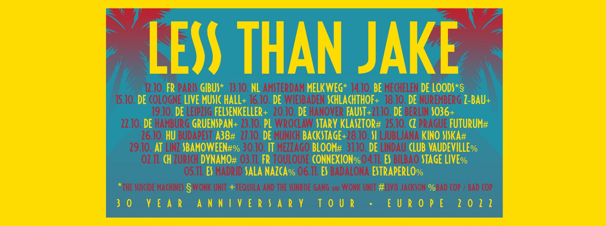 Less Than Jake - European Tour