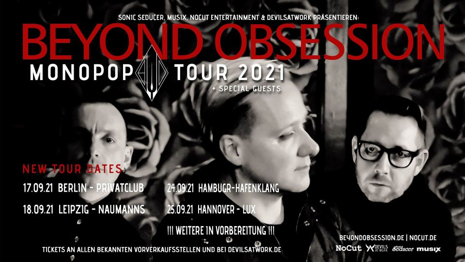 Beyond Obsession Monopop Tour