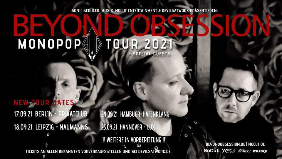 Beyond Obsession Monopop Tour