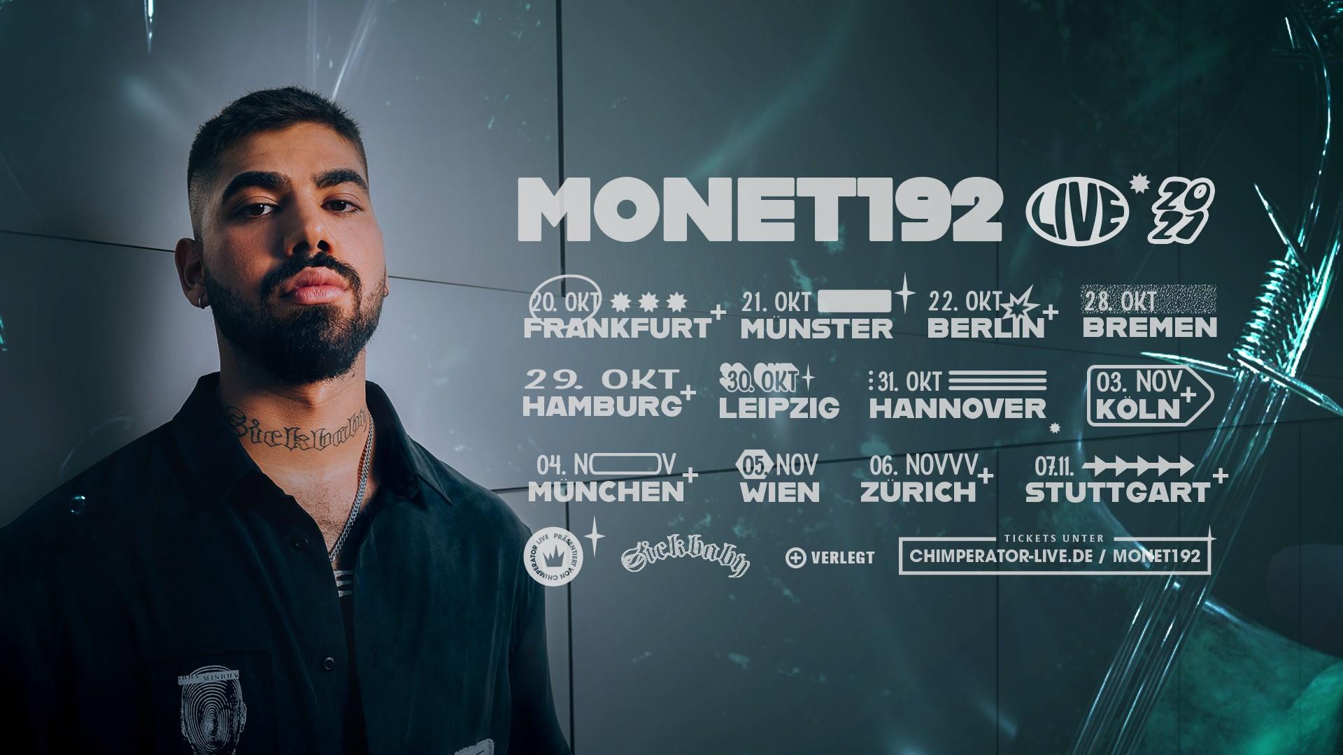 Monet192 -  Live 2021