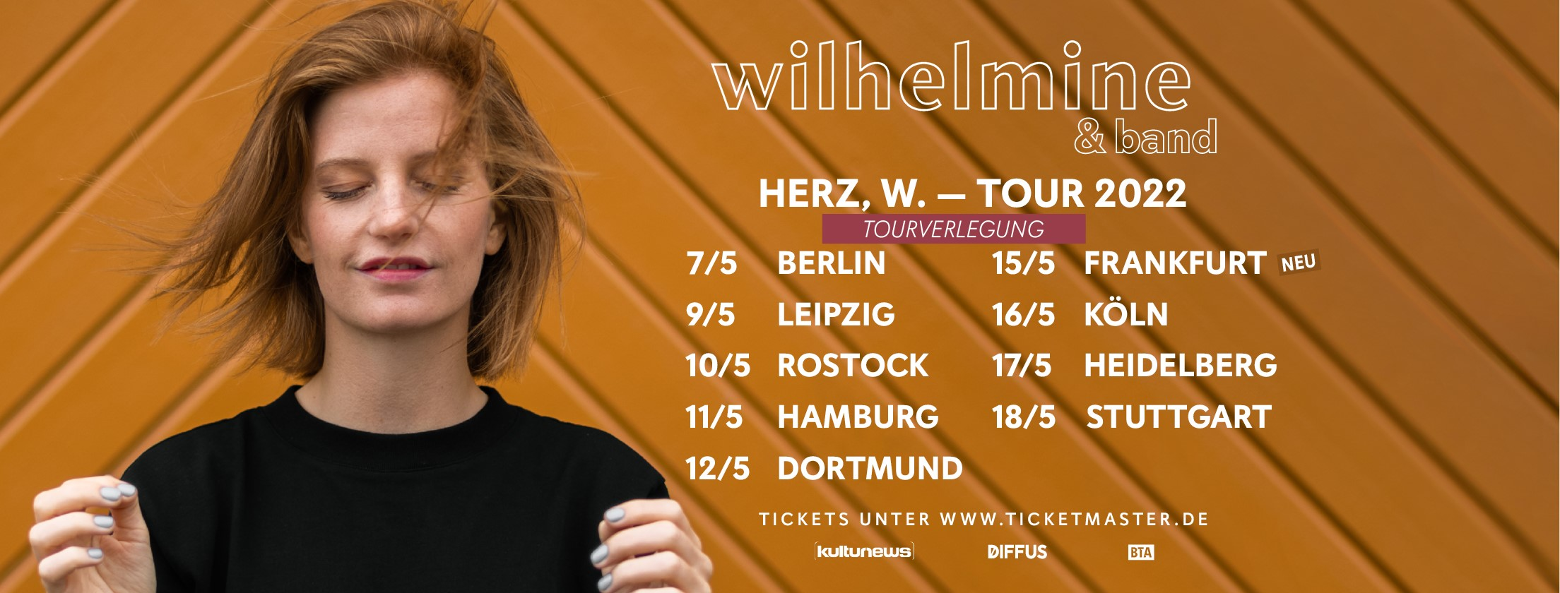"""Wilhelmine - """"Herz, W. - Tour"""""""