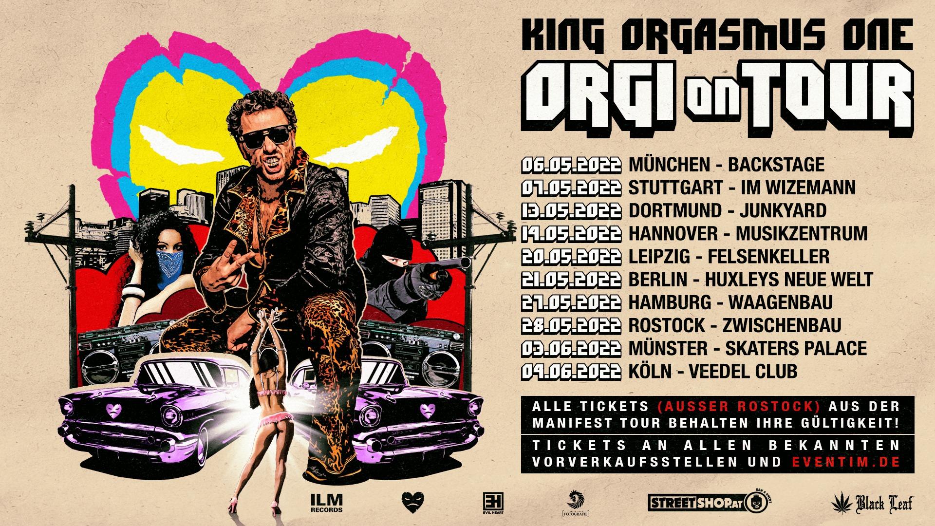 Orgi on Tour
